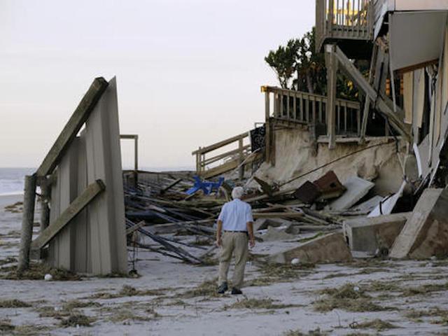 Daños por tormenta a causa del huracán Irma
