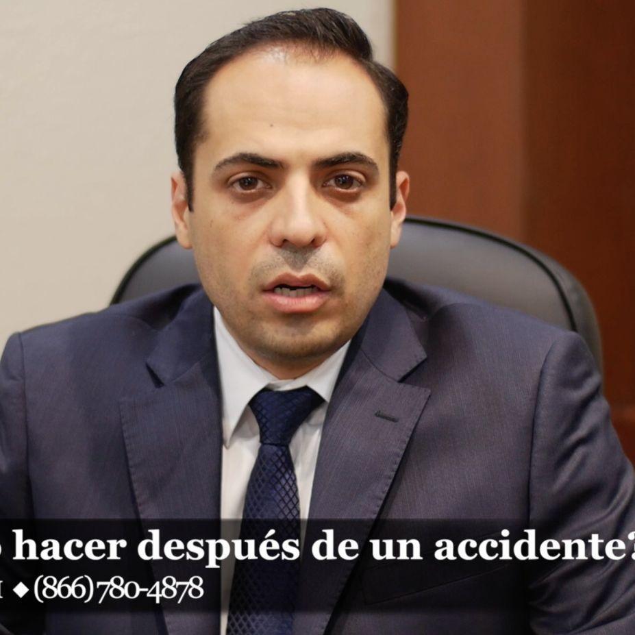 ¿Qué debo hacer luego de haber estado involucrado en un accidente?