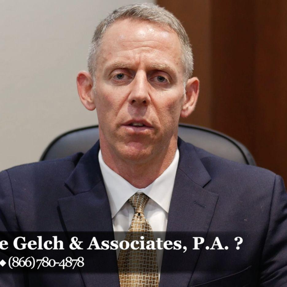Why choose Gelch & Associates to handle your personal injury lawsuit?